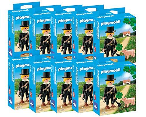 Playmobil Spar-Set 165749 - 10er Set - Schornsteinfeger mit Zubehör