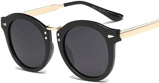 JOYS CLOTHING 男性女性のための古典的なレトロサングラス偏光サングラス、レンズサングラスFashionwearポップ偏光サングラス (Color : E)
