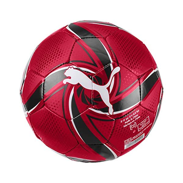 Puma-ACM-Future-Flare-Mini-Ball-Ballon-De-Foot-Adulte-Unisexe-Tango-Red-Black