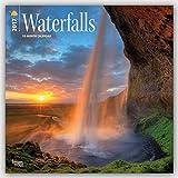 Waterfalls - Wasserfälle 2017 - 18-Monatskalender: Original BrownTrout-Kalender [Mehrsprachig] [Kalender] (Wall-Kalender)