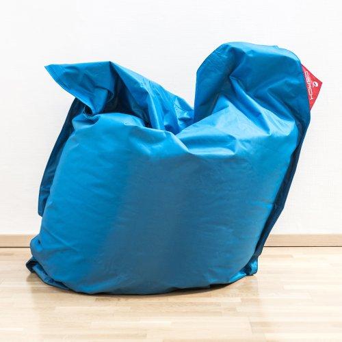 XXL Sitzsack QSack Outdoorer mit deutscher Qualitätsfüllung, 140 x 180 cm (blau) - 2