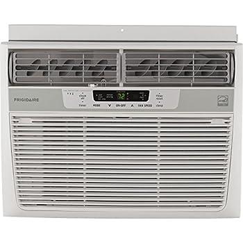 Frigidaire 12,000 BTU 115V Window-Mounted Compact Air Conditioner with Temperature Sensing Remote Control