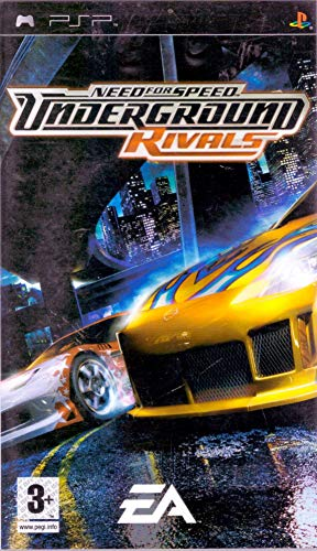 Electronic Arts Need for speed: underground rivals, PSP