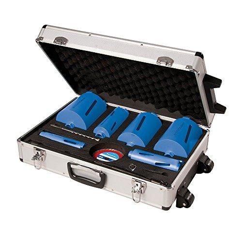 Silverline 427650 Diamond Core Drill Kit 38-127 mm - Set of 6