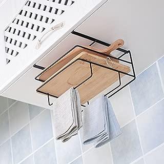 kucoolou Kitchen Pantry and Cabinet Organizer Kitchen Houseware Organizer Rack Shelves Dish Holder Towel Holders Cupboard Hook Storage Tool