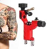 Dragonfly Tattoo Machine Guns Shader Liner Motor rotativo Tattoo Tattoo RCA Cord Artista Herramienta de maquillaje(rojo)