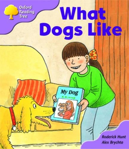 Oxford Reading Tree: Stage 1+: More First Sentences: What Dogs Like: pack Aの詳細を見る
