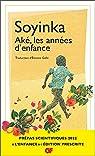 Aké, les années d'enfance par Soyinka