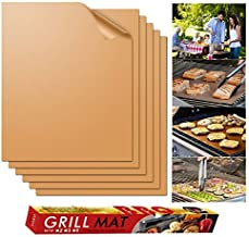 ButterThao93 BBQ Sticks 2pcs/5pcs/6pcs BBQ Grill Mat Non-Stick Barbecue Baking Reusable Cooking Sheets Bakeware Sheet Easy Clean