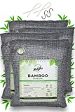 Famsha 4-pack Activated Bamboo Charcoal Air Purifier Bags, Natural and Fresh air for your home and car