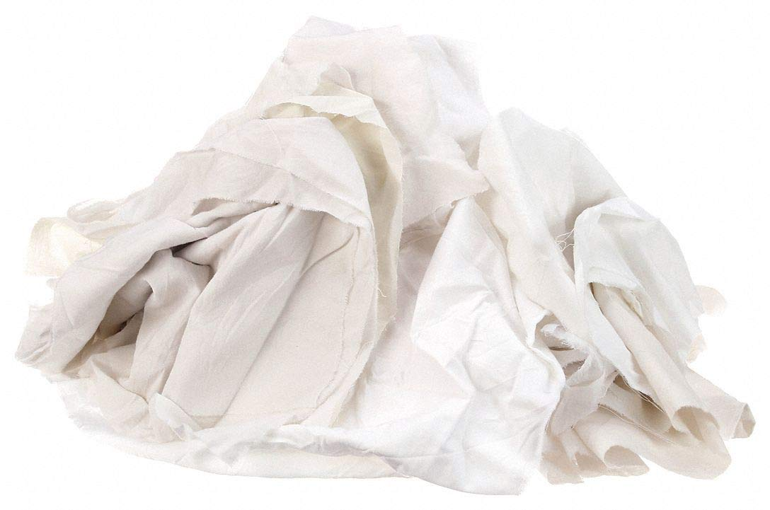 New Sheeting Rags Cotton Box 25 lb. Popular brand Superior