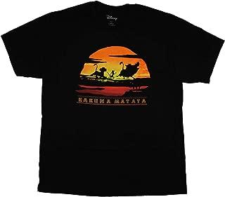 Lion King Hakuna MATA Sunset Adult T-Shirt