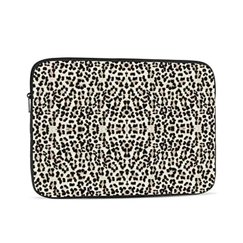YTUTRfb Leopard Bigger and Better 13 Inch Zipper Laptop Sleeve Bag - Leopard Bigger and Better Carring Case Cover Protector Handbag for MacBook/Notebook/Ultrabook