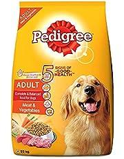 Pedigree Adult Dog Food Meat & Vegetables, 22 kg Pack, 22 kg