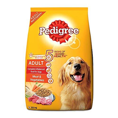 Pedigree Adult Dry Dog Food, Meat & Vegetables, 22kg...