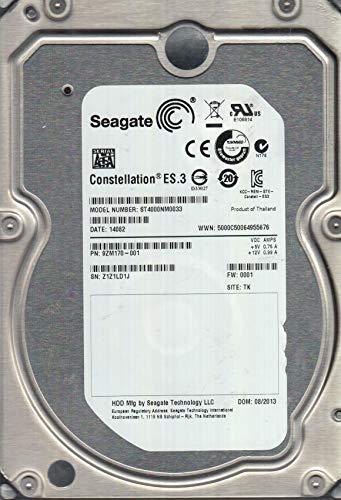 ST4000NM0033, Z1Z, TK, PN 9ZM170-001, FW 0001, Seagate 4TB SATA 3.5 Festplatte (Generalüberholt)
