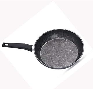 Fry Wok plat casseroles Ne coincez Pan moins d'huile Vapeurs Poêle Fry Wok Appliquer à Cooker Cuisinière gaz 26/28 / 30CM ...
