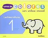 Letras de colores, lectoescritura, Educación Infantil. Cuaderno 1