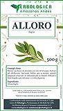 Alloro foglie taglio tisana 500 gr | Naturale e pura al 100% - Vegano e senza additivi | Tisana diuretica, ottima per rinforzare il sistema immunitario - Erbologica Amazonas Andes