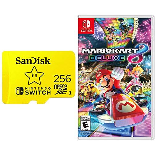 SanDisk 256GB MicroSDXC Card, Licensed for Nintendo Switch -...