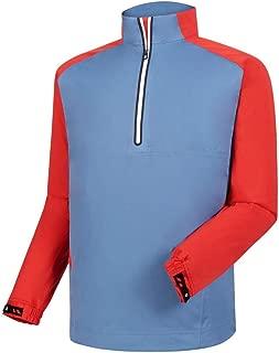 Footjoy Golf HydroKnit Pullover (Slate/Red, Medium)