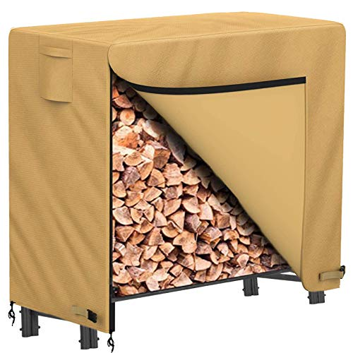 MOHAMM Firewood Log Rack, Fireplace Wood Holder
