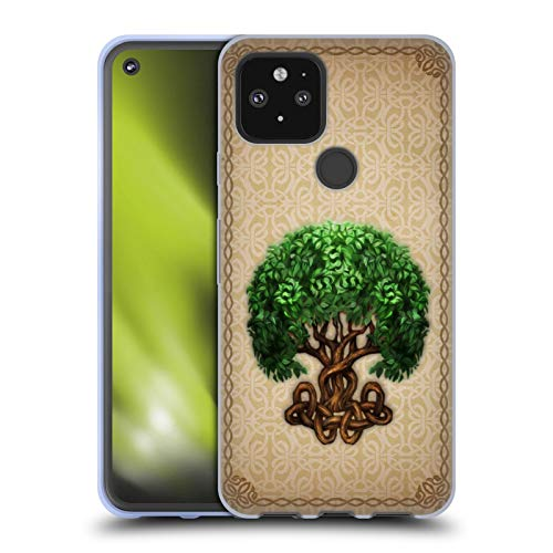 Head Case Designs Officially Licensed Brigid Ashwood Tree of Life Celtic Wisdom 2 Soft Gel Case Compatible with Google Pixel 5
