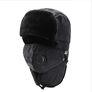 Hat Fashion Unisex Windproof Ski Warm Thick Balaclava With Ear Flap Face Mask Motorcycle Face Shield For Men Women Neck Warmer For Winter Outdoors Cycling Snowboarding Hiking Hunting Trooper Hat Fashi
