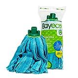 Bayeco Fregona Tiras, Microfibra Mixta, Naranja/Amarillo/Azul, 150 Mililitros