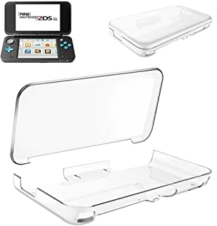 Flytank Nintendo 2DS LL ケース NEWニンテンドー2DS LL ケース クリア 透明 PC素材 落下防止 衝撃吸収 超薄型軽量 全面保護 New Nintendo 2DS LLに対応