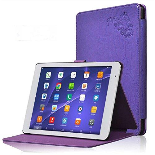 Tutoy Tri-Fold Gehäuse Stand Abdeckung Für Teclast X98 Air Ii X98 Air 3G Tablet - Lila