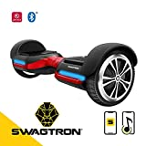 Swagtron T580 App-Enabled Bluetooth Hoverboard w/Speaker Smart Self-Balancing Wheel – Available on...