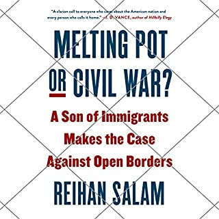 Melting Pot or Civil War? audiobook cover art