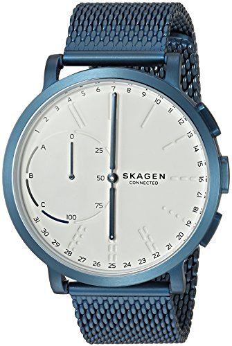 Skagen Hagen Connected Steel-Mesh Hybrid Smartwatch