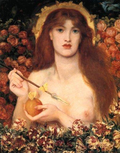 "WONDERFULITEMS Venus VERTICORDIA by Dante Gabriel Rossetti 11"" X 14"" Image Size Print REPRO Matte Paper"