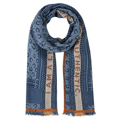 CODELLO Damen Logo-Schal aus Viskose und Wolle