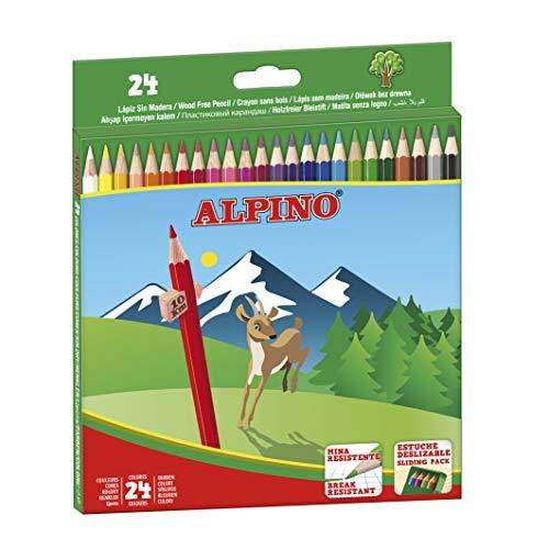 Alpino AL010658 - Estuche 24 lápices