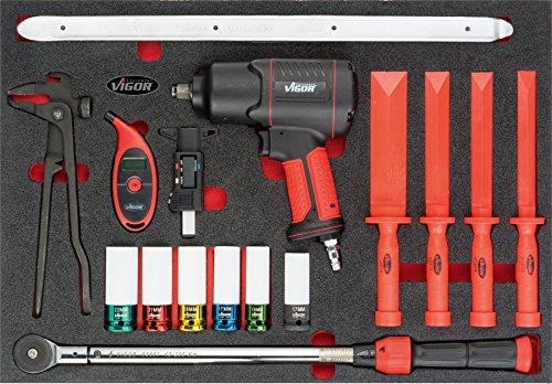 Vigor Räder/Reifen-Satz V4755 ∙ Anzahl Werkzeuge: 17