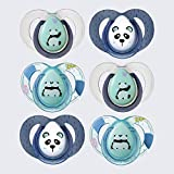 Tommee Tippee Chupetes Anytime, 6 Unidades, Panda, 6-18 Meses
