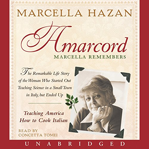 Amarcord audiobook cover art
