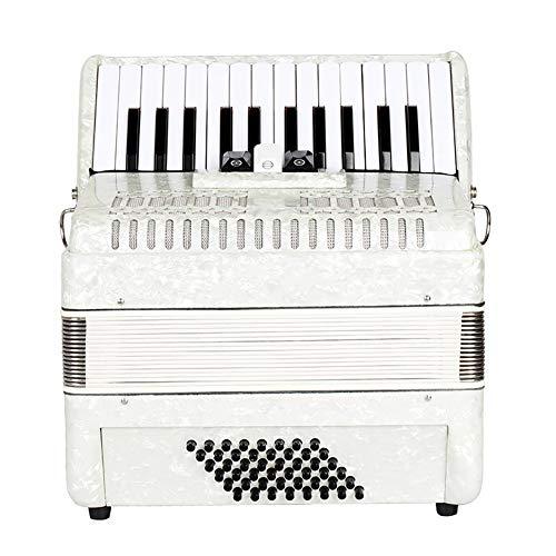 BLKykll Accordeon, Beginner gemaakt van esdoorn geschikt voor professionele spelers voor weergave 26-Key 48 Bass Piano Accordion kan worden gebruikt als een kerst