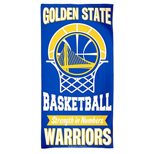 NBA - Toalla de playa, diseño de Golden State Warriors