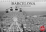 Barcelona Schwarz / Weiß Impressionen (Tischkalender 2021 DIN A5 quer): Fantastische Impressionen in schwarz / weiß der wunderbaren katalonischen Stadt Barcelona (Geburtstagskalender, 14 Seiten )
