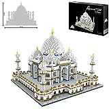 Taj Mahal World Famous Landmark 3900 + pcs Nano Mini Kits de Bloques de construcción de construcción de niños de Bricolaje Educativo Regalos de Juguete
