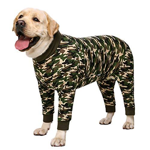 N/A Ropa para Perros Ropa Perro Grande Pijamas Ropa Perro Grande Mono Bulldog Corgi Samoyedo Husky Labrador Golden Retriever Abrigoperros Pequeños Medianos Grandes Regalo Navidad Halloween