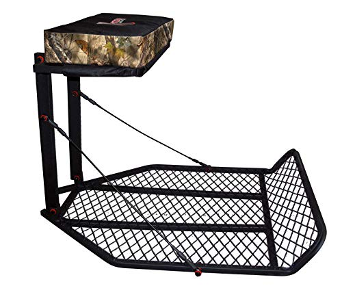 Price comparison product image X-Stand Treestands The Champ Hang- On The Champ Steel Hang-On Hunting Tree Stand,  Black