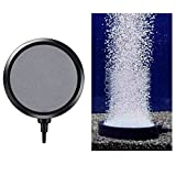 Disco de Burbuja para Acuario Tanque de Peces,1Pc 10.7CM Disco de Burbuja Oxígeno Bomba Piedra de Disco de Burbujas de Aire para Acuario Difusor de Disco de Burbuja Accesorios para Tanque de Peces