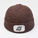 YFZCLYZAXET Cappello Caldo Berretti Cappello Unisex Moda Hip Hop Winter Caps-Marrone