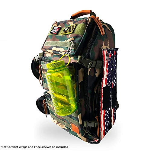 Backpack for Crossfit WOD comp Best Grade Quality Survival Tactical Hiking (Green) Perfect for any Kind of Trip, Competition, Physical Activity, Travel or Just Go to Study - Unbrokenshop.com