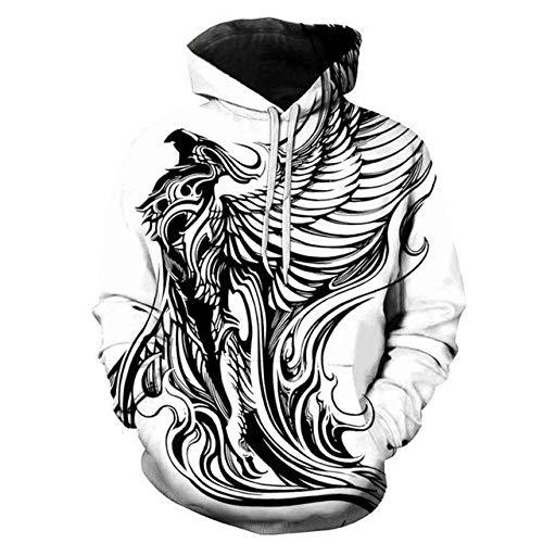 Moda Cool Hip Hop Sombreros Sudaderas Casual Streetwear y wo Jerseys Harajuku Devil Sudadera Hombres en